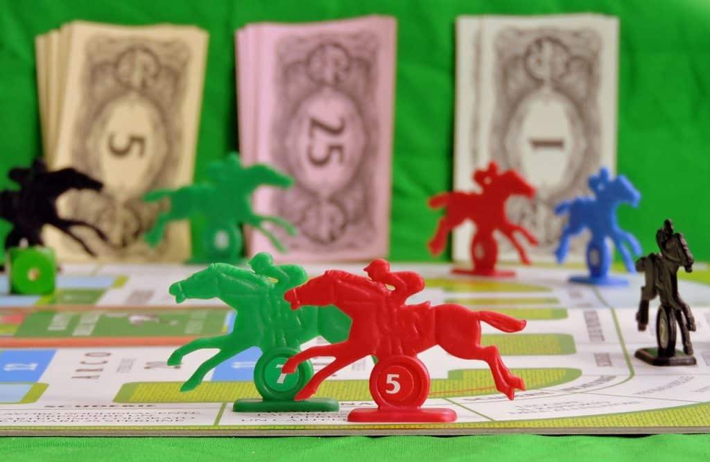 Pferdewetten Spiel